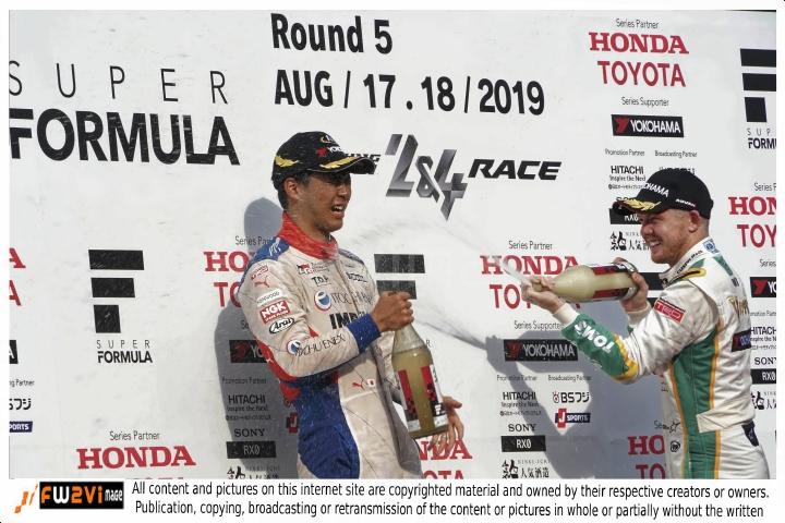 Motegi Round.5 SuperFormula SF19-2019