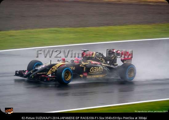 Pastor Maldonado-suzuka-f1-2014-japanese gp race