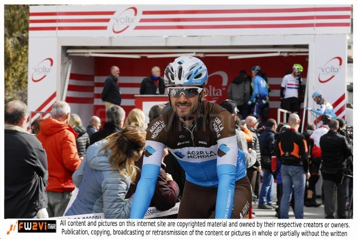 Tour de Catalogne  Friday March. 23, 2018 village depart LLIVIA